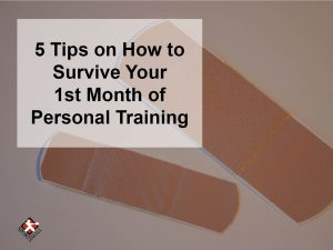 How to survive personal training
